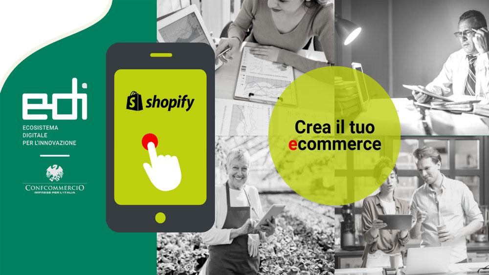 Apri il tuo e-commerce con Shopify