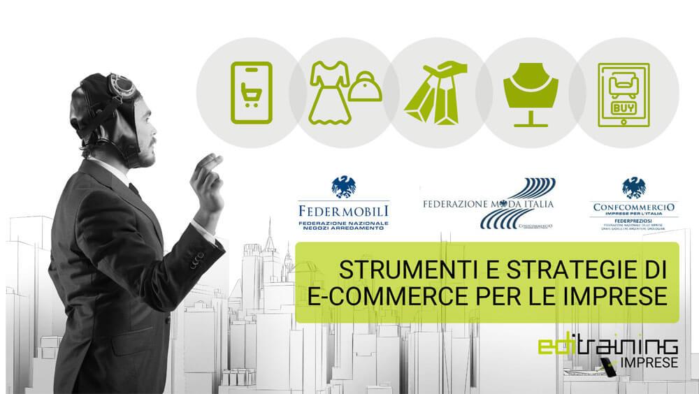 Webinar Strumenti e strategie per l'e.commerce - EDI Confcommercio