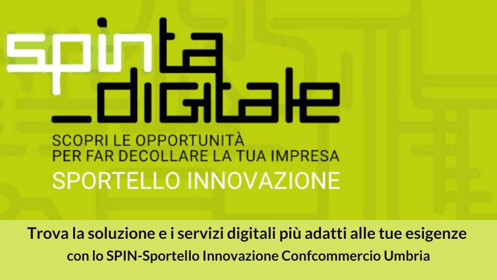 Spin-Sportello Innovazione Confcommercio Umbria - Spinta Digitale